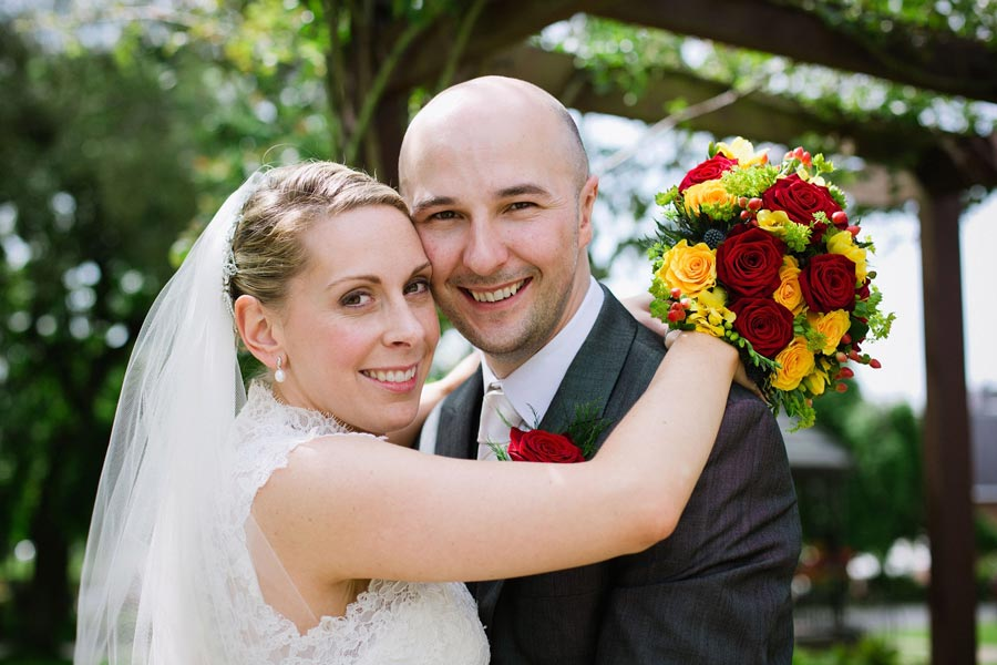 Lauren and Luke married