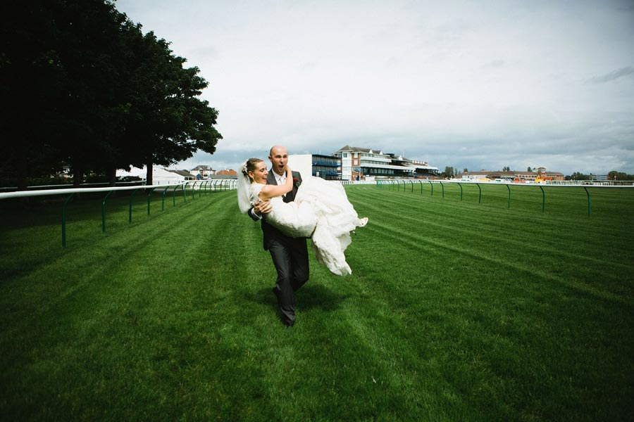 ayr racecourse bride groom