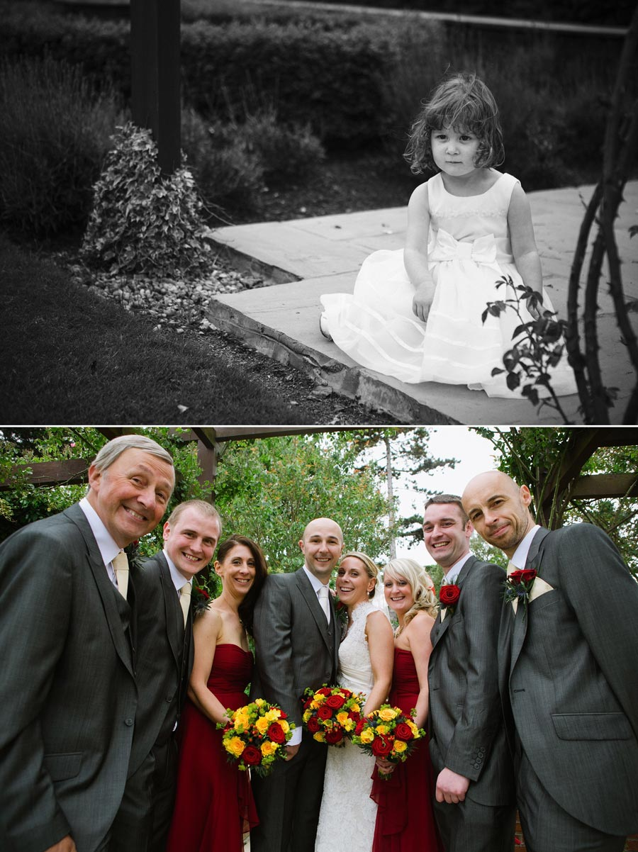 bridesmaid and bridal party