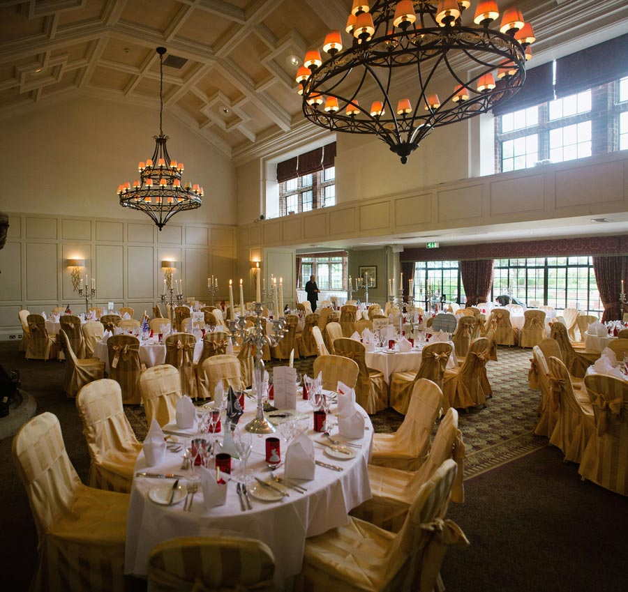 wedding breakfast room
