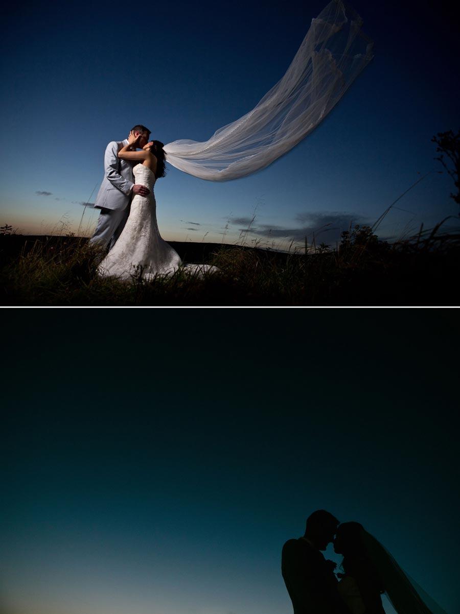 creative lighting wedding photography with off camera flash at the saddleworth hotel