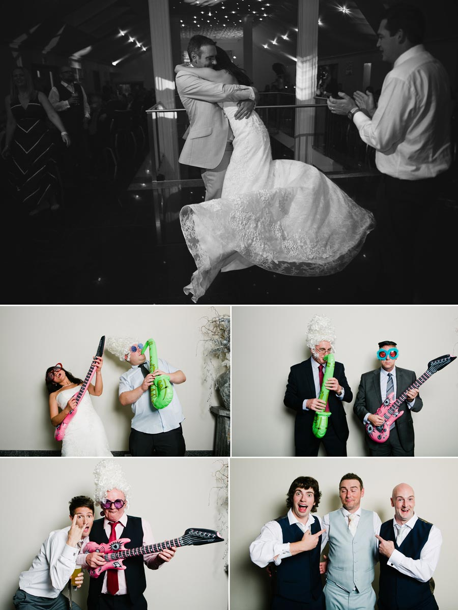 wedding photo booth shots