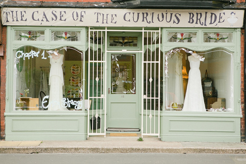 Vintage Wedding Dress Shop // The Case of the Curious Bride ...