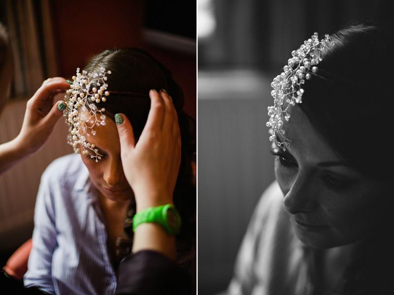 Ivory Tuesday bridal headwear