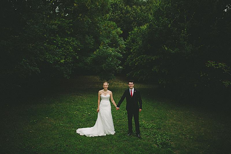 stylish alternative wedding photographs