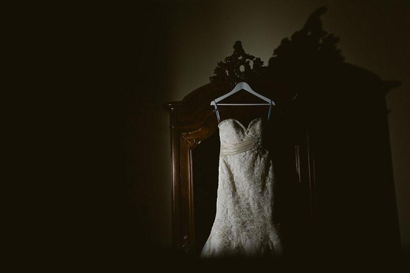 wedding dress peckforton castle