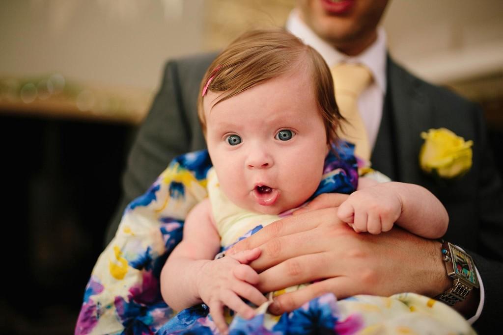 a cute baby photo