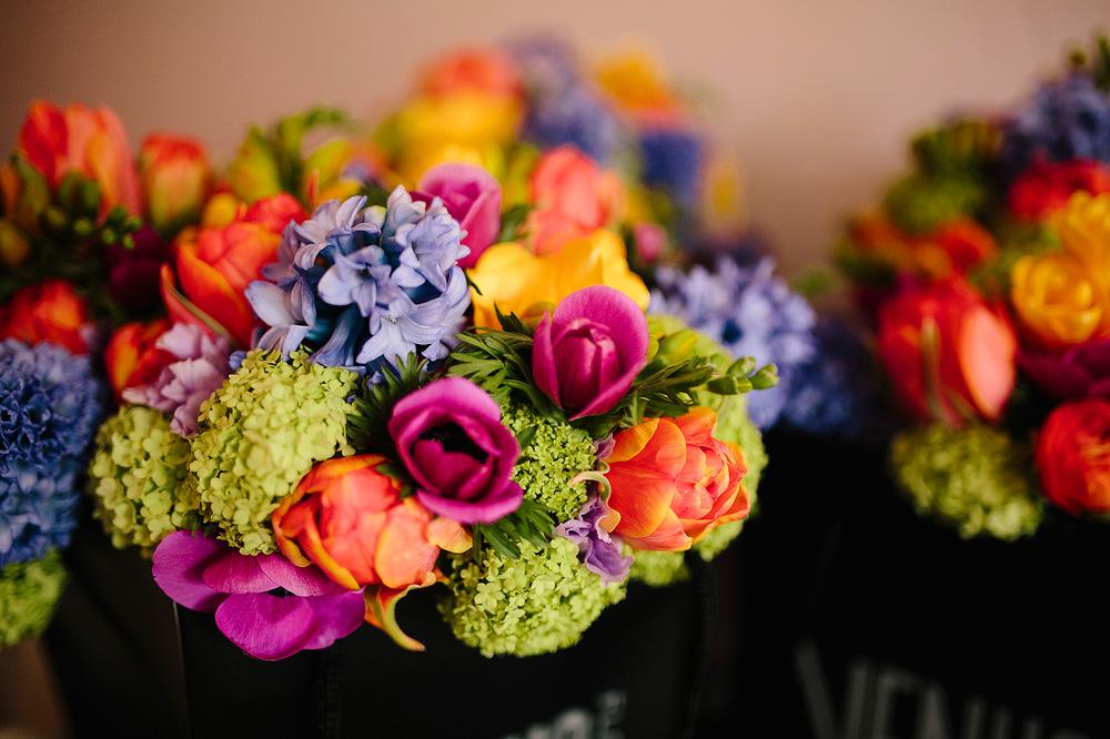 the bride's amazing flowers