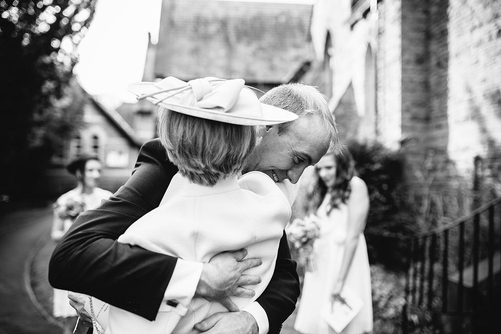 simon gives his mum a big hug