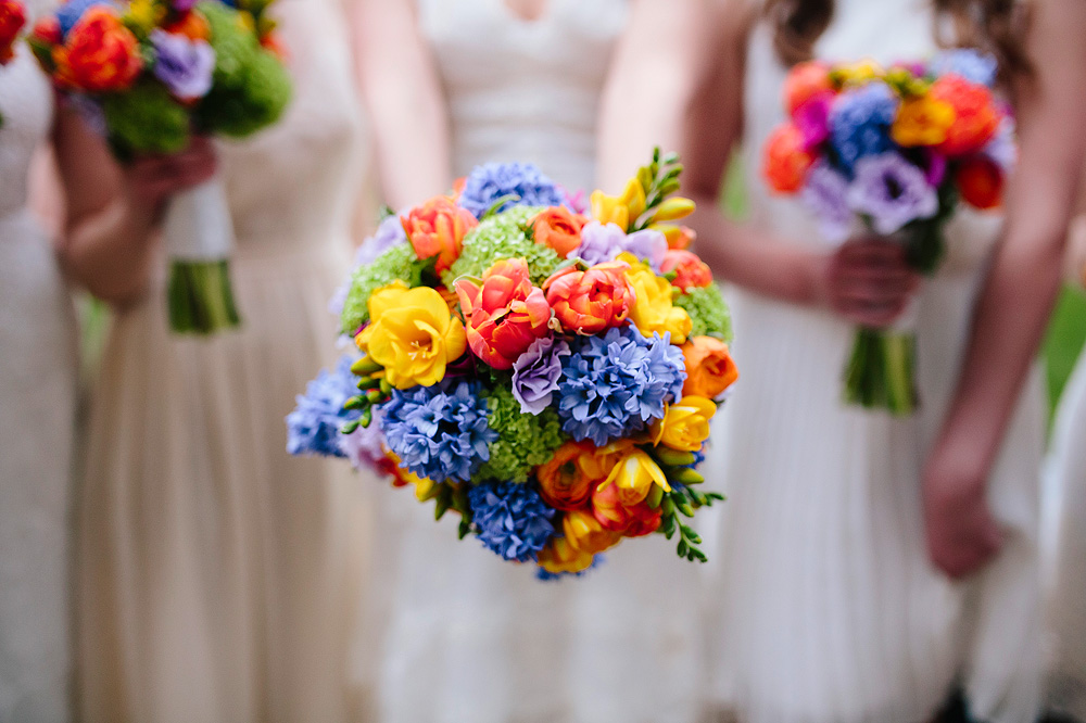 beautiful flowers held by the bride for her wedding