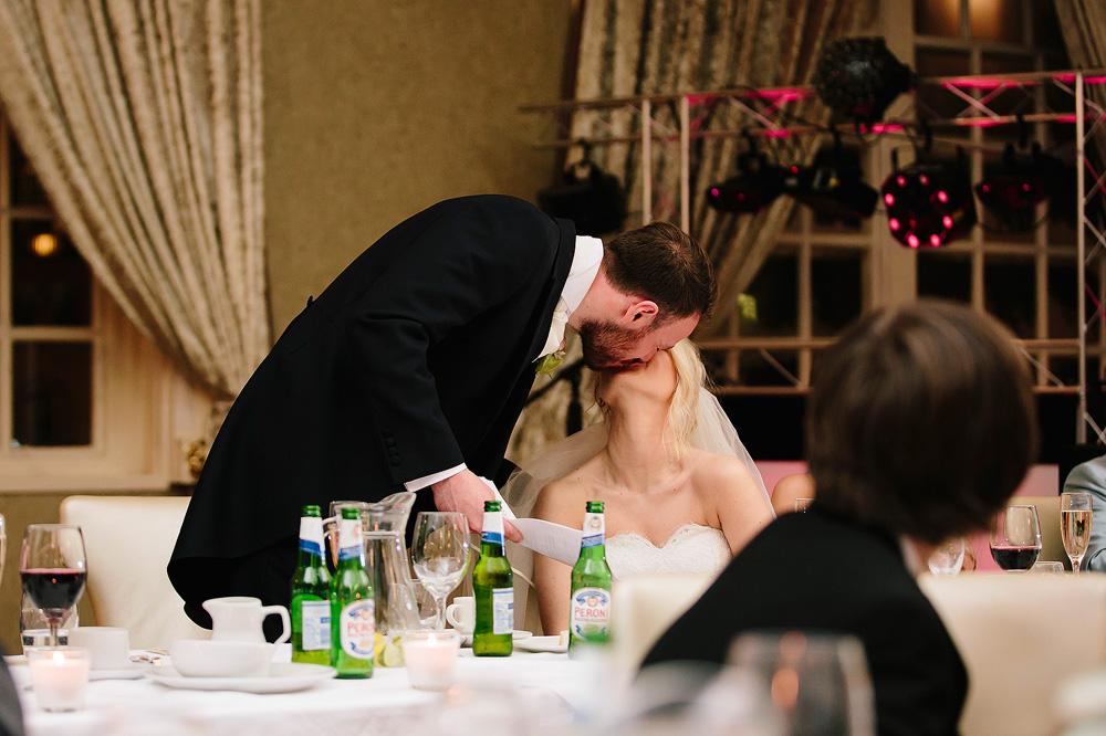 Ian and Adele kiss again.