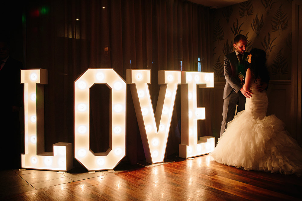 big love light up letters