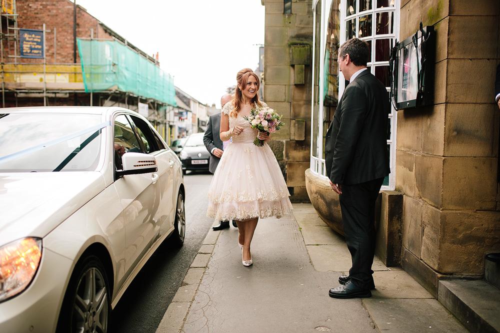 she enters the belle epoque wedding venue