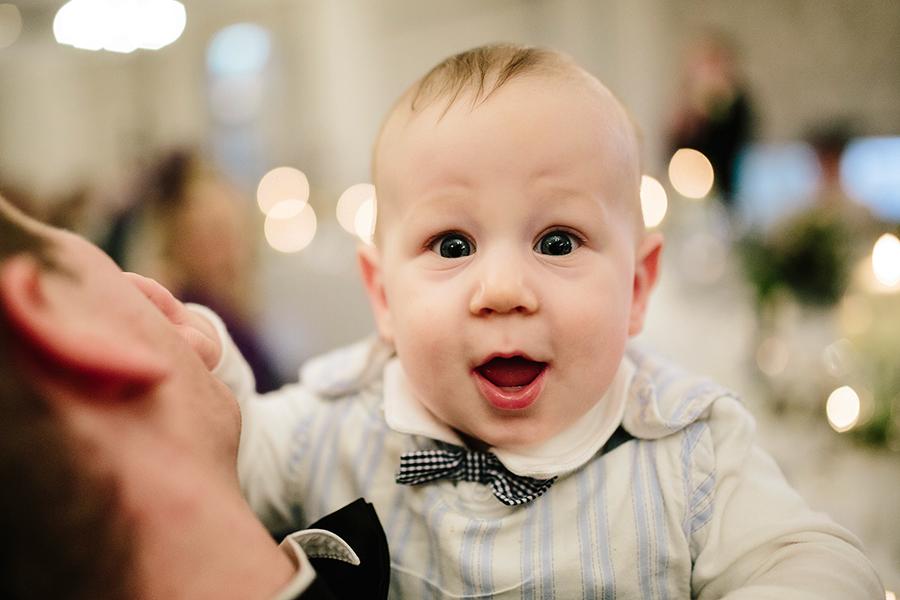 a cute baby