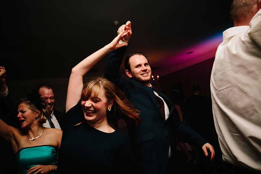 the ceilidh dancing