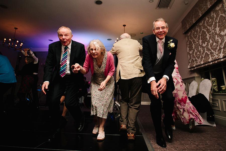 the parents enjoy the dancing